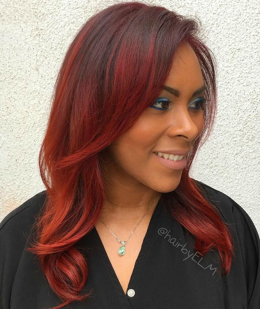 Red Hair Color For Dark Skin Best Hair Color For Summer Check More At Http Frenzyhairstudio Com Hair Color For Dark Skin Boxed Hair Color Summer Hair Color