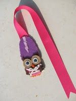 Felt Bookmark Frankenstein Owl = AWESOME!!!  Great job @Leslie Lippi Lippi Lippi Rahye