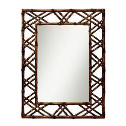 "Island Mirror. Hand Painted Finish. 1.5""h x 30.9""w x 40.38""l"
