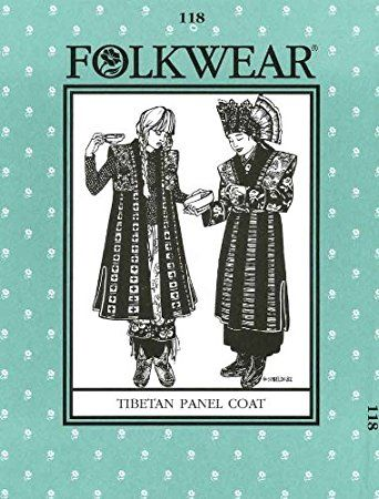 Folkwear 118 Tibetan Panel Coat | Pattern Collection | Pinterest