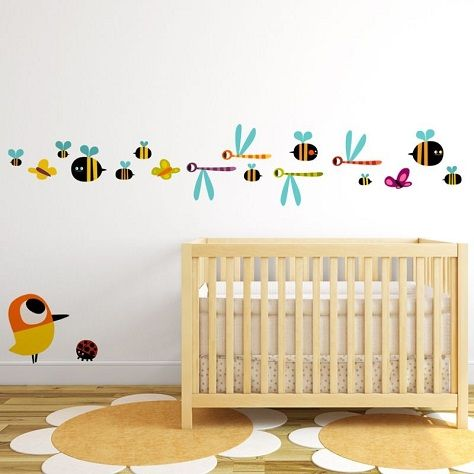 Pin de mamidecora en vinilos infantiles vinilos beb - Decoracion habitacion bebe vinilos ...