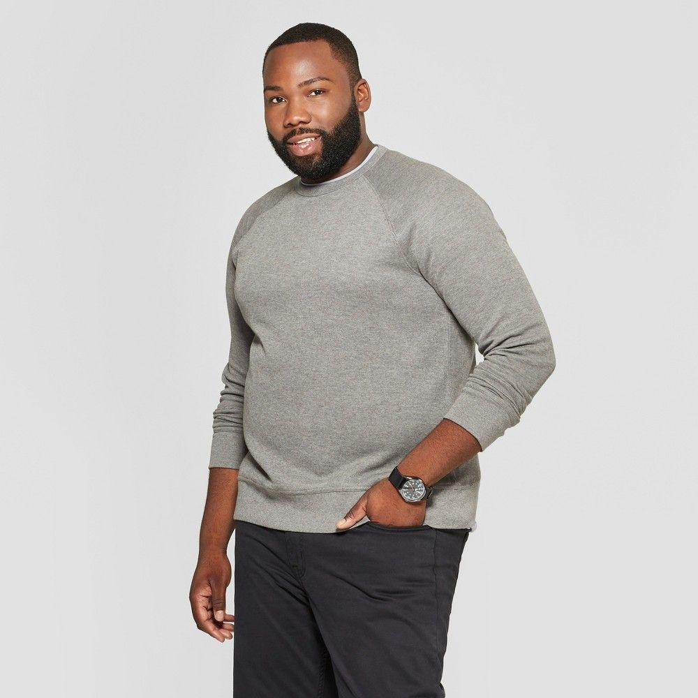 0a7c3b991ba06 Men s Big   Tall Regular Fit Long Sleeve Waffle Thermal T-Shirt - Goodfellow    Co Gray 3XBT
