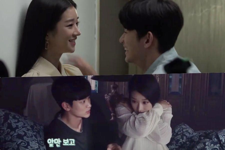 "Watch: Kim Soo Hyun And Seo Ye Ji Pay Close Attention To Detail In ""It's Okay To Not Be Okay"" Behind-The-Scenes Video"