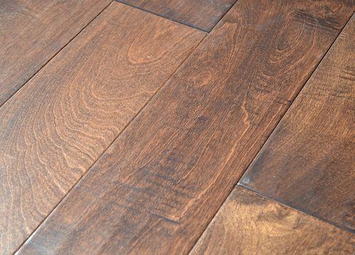 Bausen hardwood flooring canyon ranch collection birch for Hardwood floors 5 inch