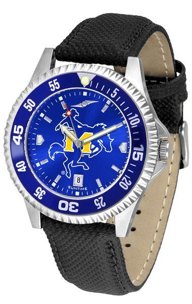 Mens McNeese State Cowboys - Competitor AnoChrome Watch - Color Bezel