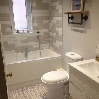 Very Chuffed To See Our Own Bathroom On The Harvey Maria Gallery Grey Petals With Little
