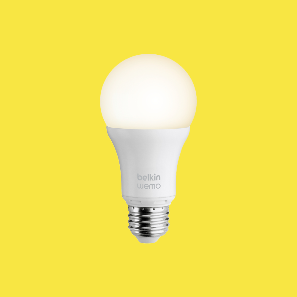 Wemo Smart Led Bulbs Give Off Warm Bright Light Similar To