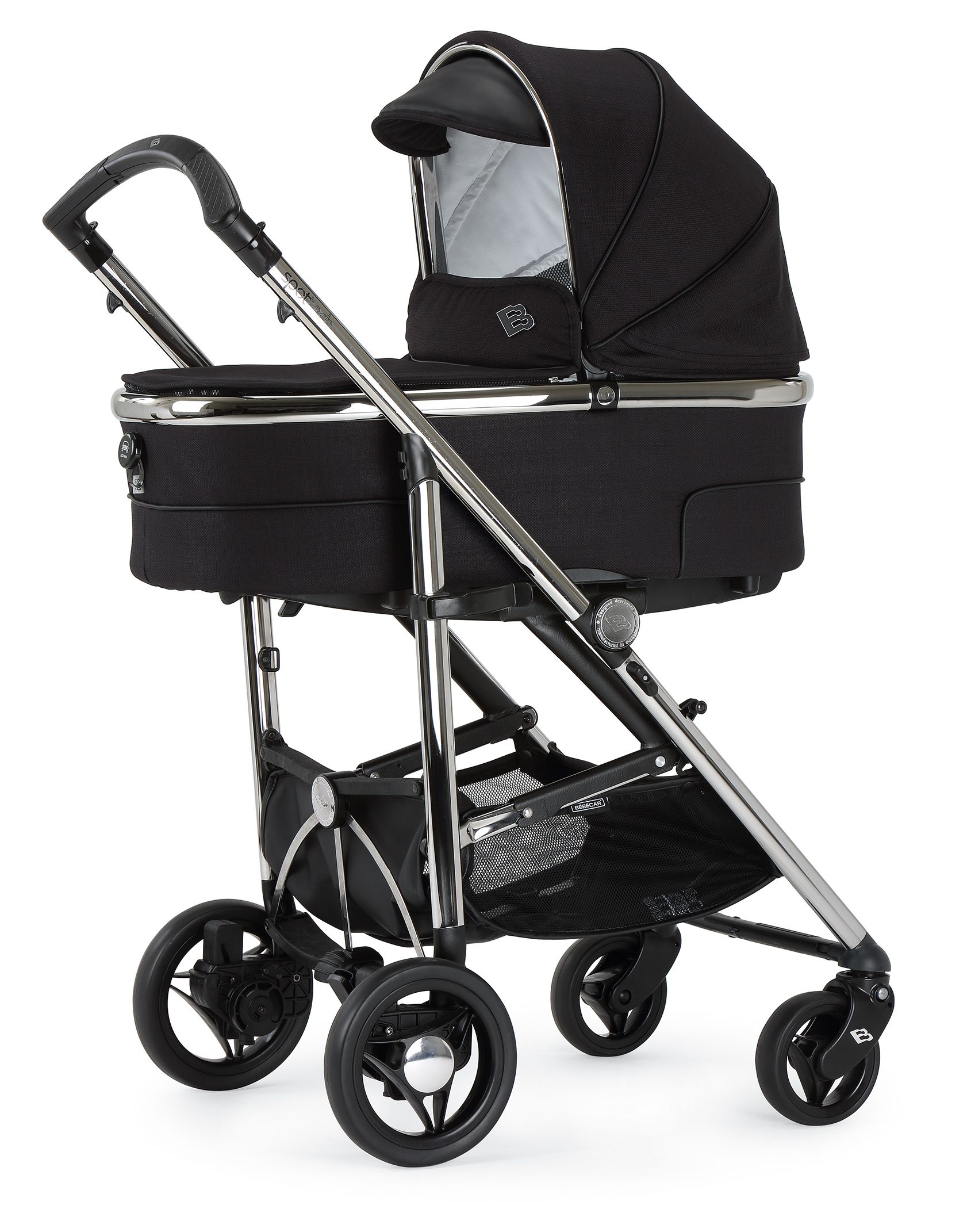 Babies · Bebecar SpotTech in Black Shadow The new SpotTech is the only pushchair you ll