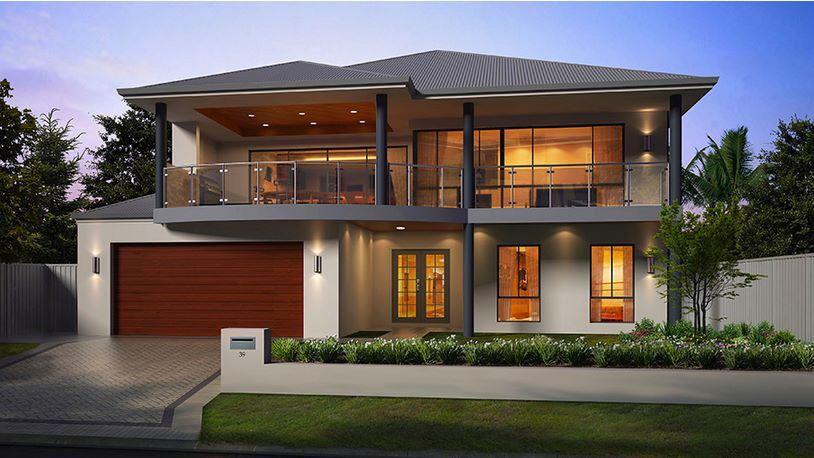Casa Por Fuera Casas De Lujo Casas Modernas Casas Con Balcon