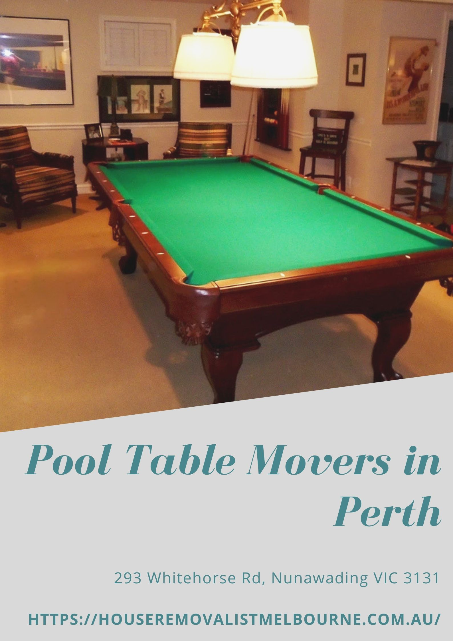 Pool Table Moving Tips Pool Table Movers in Perth