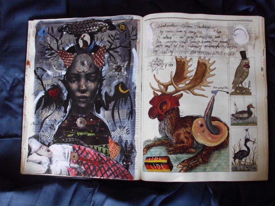 Gromyko Semper sketchbook