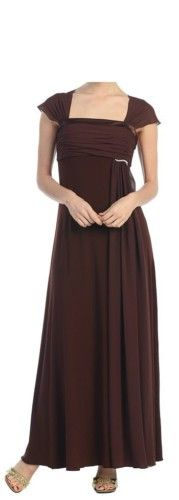 Simple Mother of The Bride Groom Formal Dress Plus Size | eBay