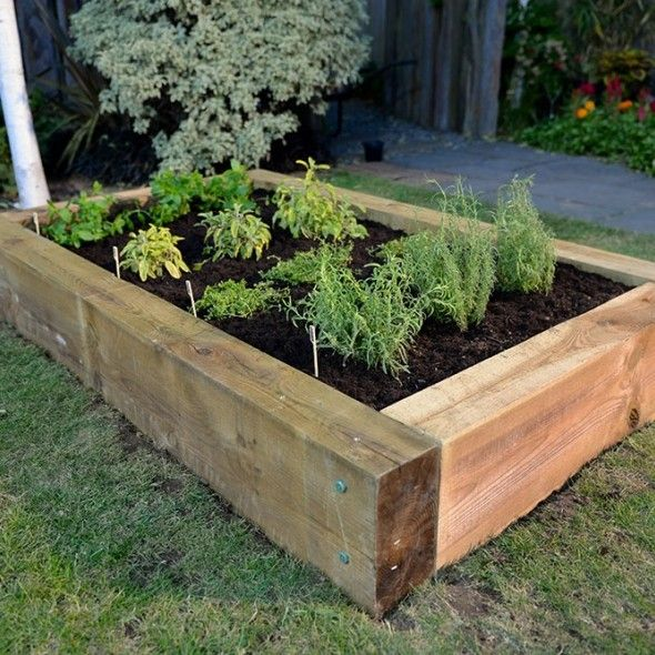 Build Your Own Raised Herb Garden In Less Than An Hour 640 x 480
