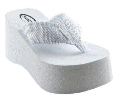 Pin By Juan On Swim And Summer White Platform Sandals Platform Slippers Shoes Sandals Heels
