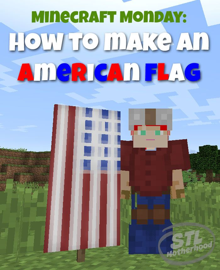How To Make An American Flag Banner In Minecraft : american, banner, minecraft, American, Minecraft, Banner, Banners,, Designs,