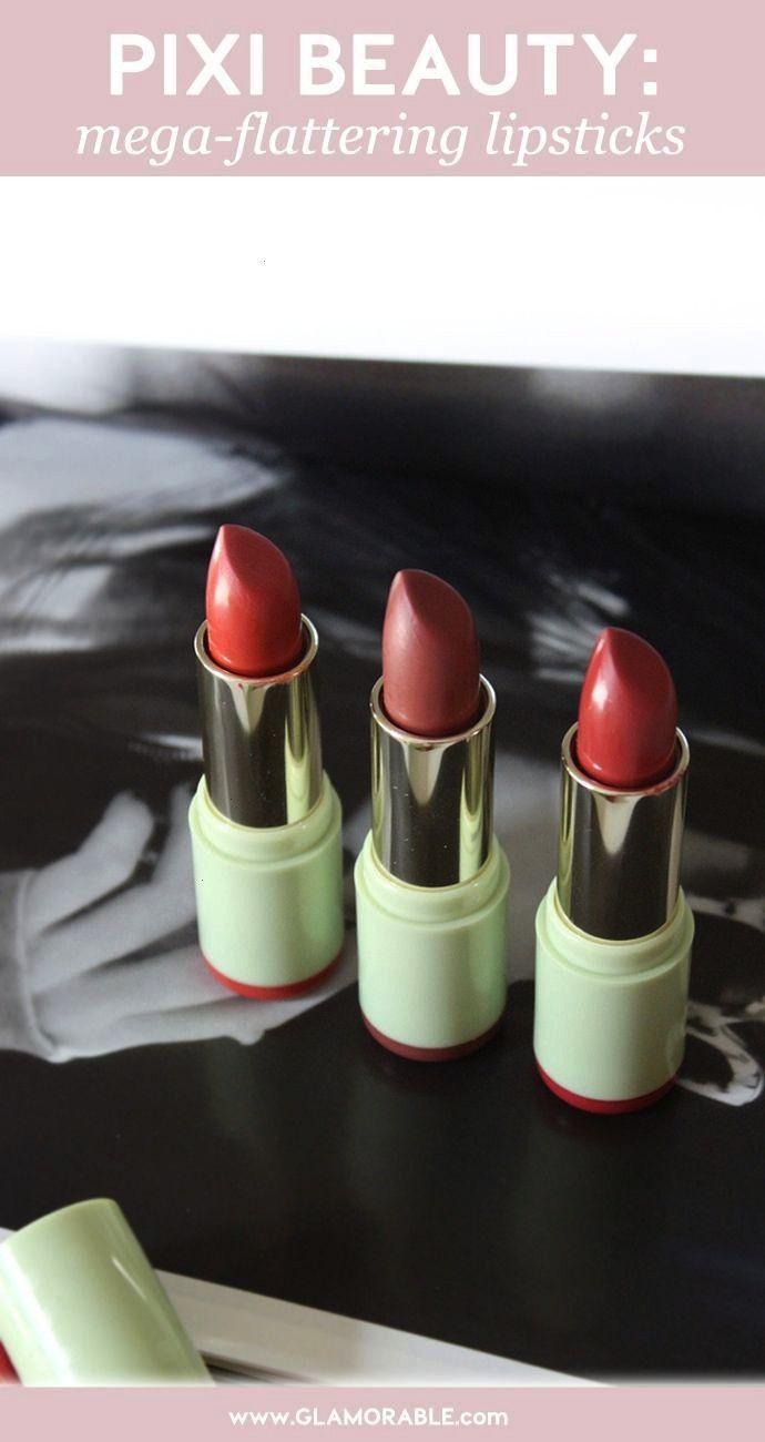 PIXI Mattelustre Lipsticks & Shea Butter Lip Balms - Glamorable Review and Swatches: PIXIMattelus