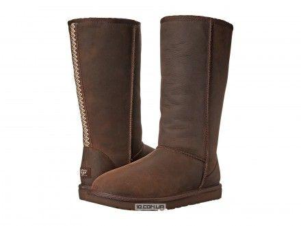 Womens Boots UGG Classic Tall Tasman Brownstone