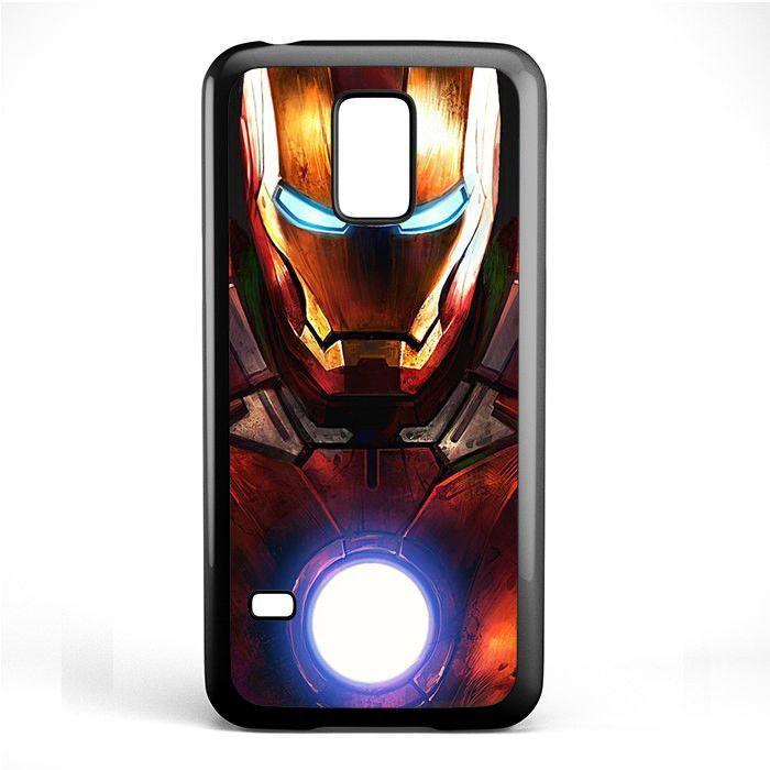 Ironman The Avengers Member TATUM-5701 Samsung Phonecase Cover Samsung Galaxy S3 Mini Galaxy S4 Mini Galaxy S5 Mini