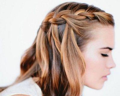 Vallig Ero Haj Alkalmi Frizura Google Kereses Wedding Hairstyles For Long Hair Hair Styles Waterfall Braid Hairstyle