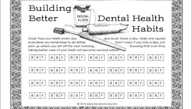 Tracking Zahngesundheit und andere gute Gewohnheiten   – HOUSE CLEANING