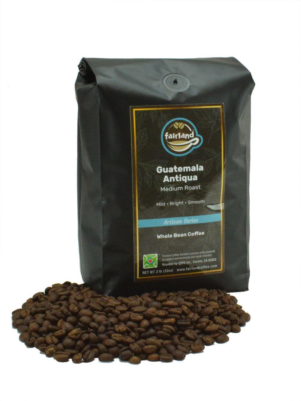 Fairland coffee guatemala antigua honey process medium