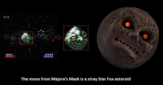 Majora S Mask And Star Fox Connected Fun Star Fox Legend Of Zelda Hyrule Warriors