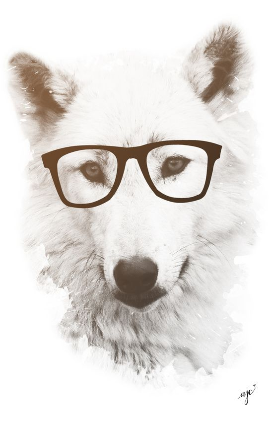Smart Wolf Art Print By Allyson Johnson Society6 Wolf Art Print Wolf Art Art Prints