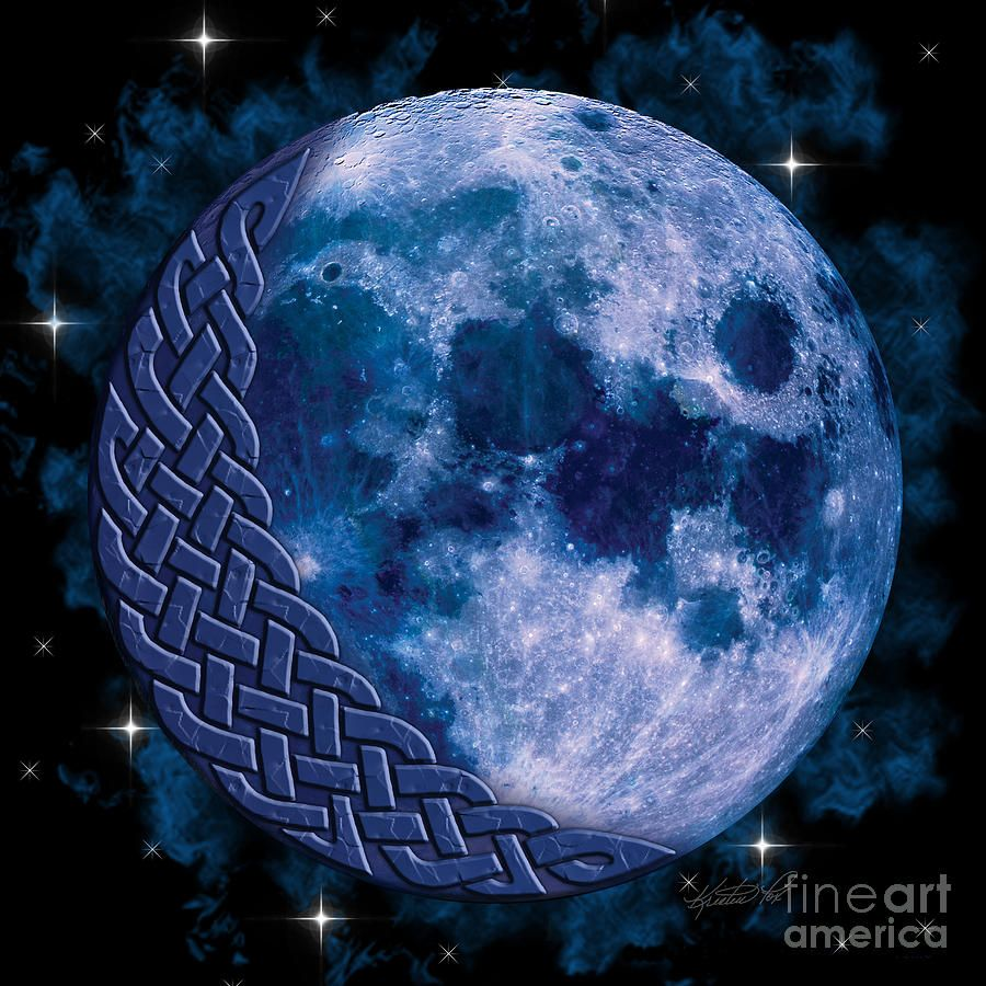 Celtic moon celtic pinterest blue moon moon and masquerades