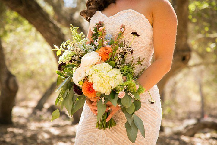 Megan and Ray's Outdoor California Wedding By A Blake Photography
