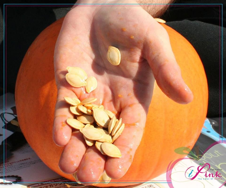 Make your groom go nuts. Consume pumpkin seeds regularly which are rich in Vitamin A to reveal #healthy, nourished and glowing #skin. Stay #Healthy... Stay #iPink