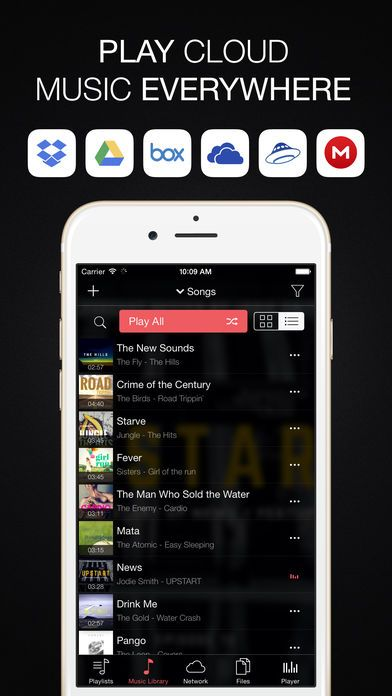 ios evermusic pro offline music free apps gone free cool