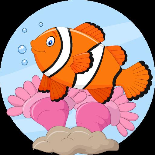 تطبيق العاب تلوين للاطفال Fish Coloring Pages For Kids Fish Coloring Page Coloring Pages For Kids Coloring Pages