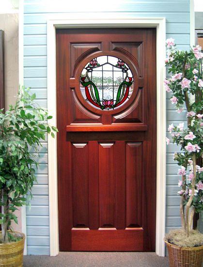 front door glass inserts craftsman   Houston hardwood doors ...
