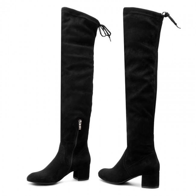 Muszkieterki Nessi 882 N Czarny Sz Kozaki Kozaki I Inne Damskie Eobuwie Pl Over Knee Boot Shoes Boots