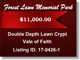 Featured Cemetery Listing - Forest Lawn Memorial Park