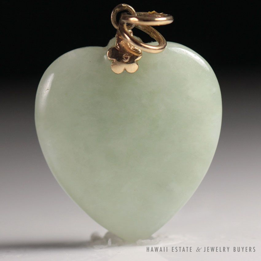See more vintagejewelry and estatejewelry on our website link see more vintagejewelry and estatejewelry on our website link in bio vintage heartwebsite linkjade pendantjade mozeypictures Choice Image