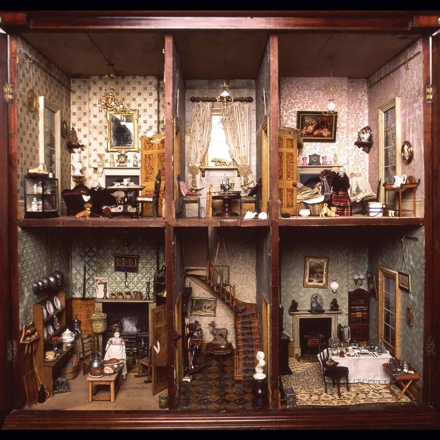 Dolls' houses #dollhouse