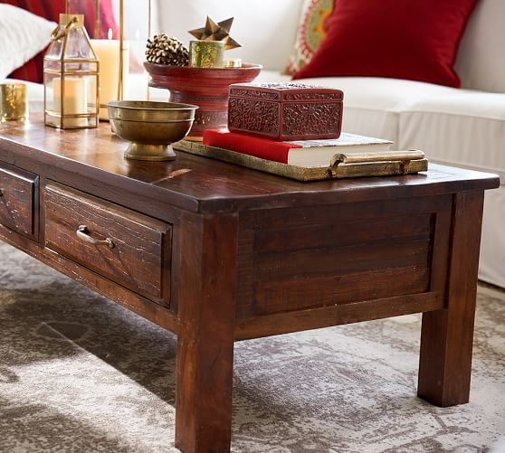 Bowry Reclaimed Wood Coffee Table Furniture Reclaimed Wood
