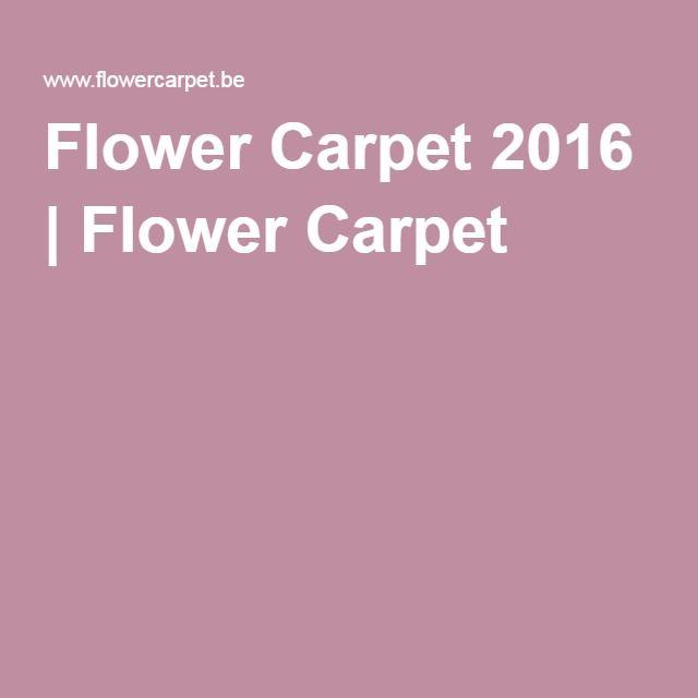 Flower Carpet 2016 | Flower Carpet