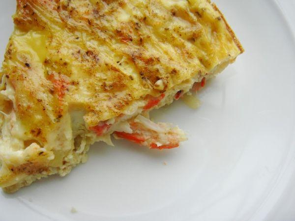 Crab Frittata - oh boy!
