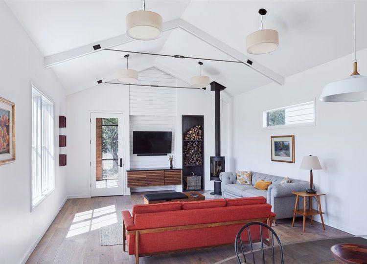 low prairie scandinavian farmhouse - tim brown architecture | farmhouse style living room
