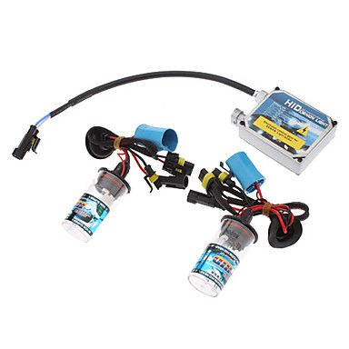 12V 35W 9004/L Xenon Low Beam/Halogen High Beam HID Xenon Lamp Conversion Kit Set (Thick Ballast) http://mxpi.co.nf/?item=567341