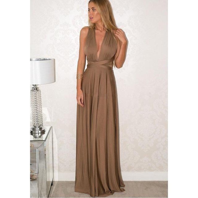 883c3333a2 Women Long Summer Dress 2017 Europe Style Boho Bohemian Dresses Robe Femme  Casual Bandage Evening Prom Dinner Party Dress