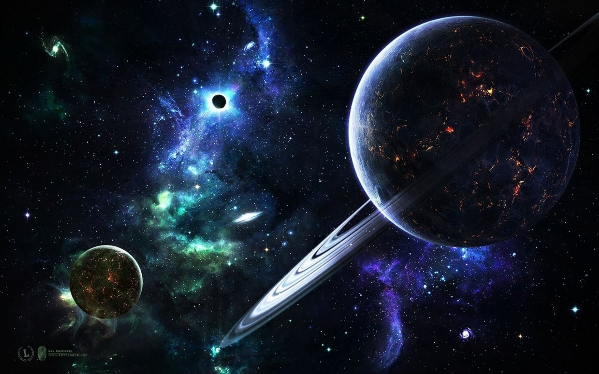 Animated Wallpaper Space Desktop Background Animated Space Wallpaper Space Art Wallpaper Wallpaper Space Outer Space Planets