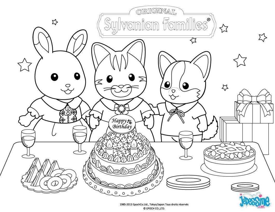 Ce coloriage Joyeux anniversaire fait partie des coloriages préférés des membres d Hellokids Une fois ton