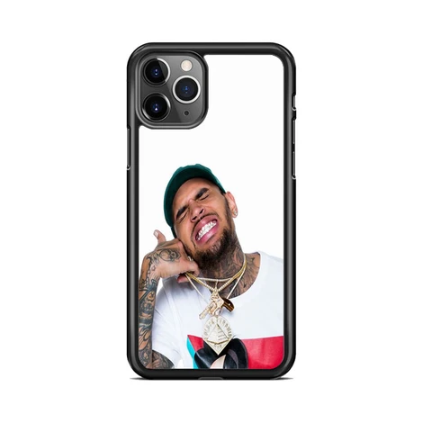 Chris Brown Thumbs Up Wallpaper Iphone 11 Pro Max Case