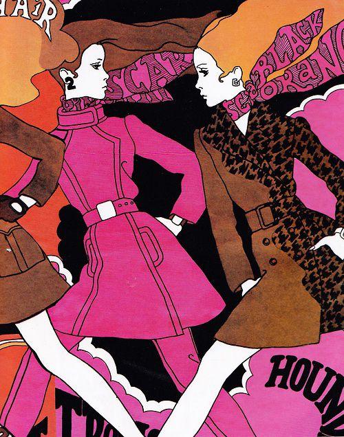 Antonio Lopez El Mayor Ilustrador De Moda 1967 Ilustracion De