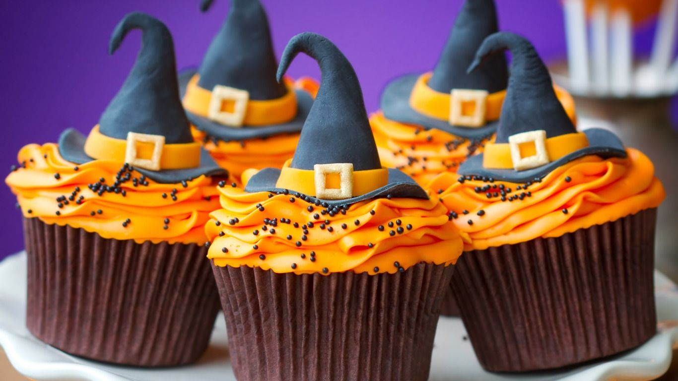 mini witch Beauty Frutty Pinterest Witches - Halloween Cake Decorating Ideas