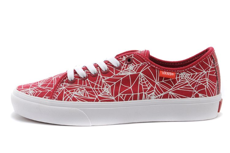 2014 Vans Canvas Classic Slip On Spider-Man 2 Print Shoe