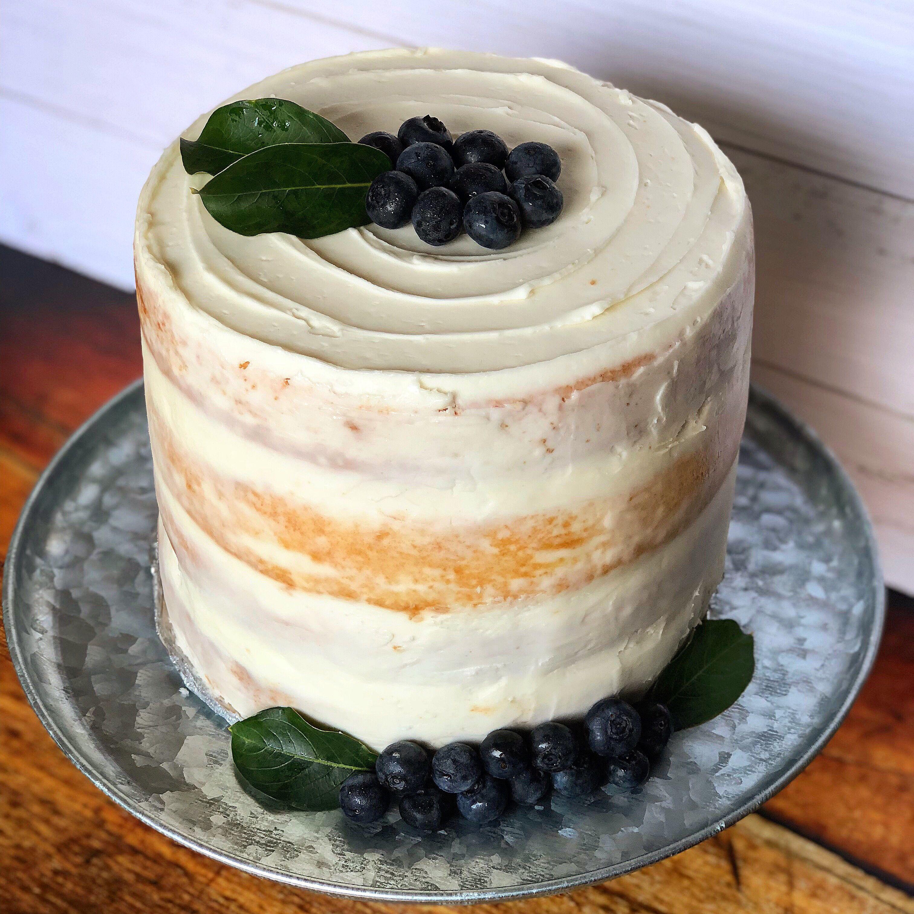 White Almond Sour Cream Wedding Cake Recipe Cream Wedding Cakes Cake Recipes Wedding Cake Recipe